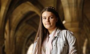 Murrin Duggan, 16, from Port Glasgow