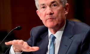 Fed chairman Jerome Powell has adopted an approach of steady rate rises.