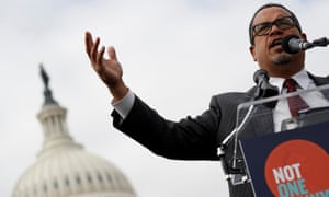 Keith Ellison: 'Writing the law is super important, writing federal law is super important, but also enforcing the law is equally important and that's just the end of it that I'd rather be focused on at this point.'