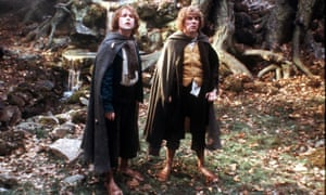 Billy Boyd and Dominic Monaghan in Lord of the Rings.