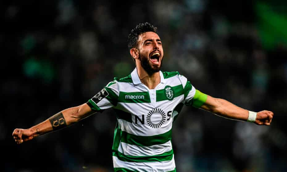 Bruno Fernandes is an attacking midfielder has 19 goals and 13 assists in 31 league games for Sporting this season.
