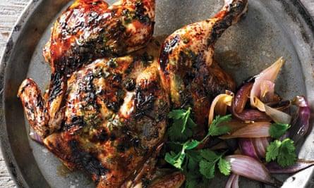 Adam Liaws fish sauce roast chicken.