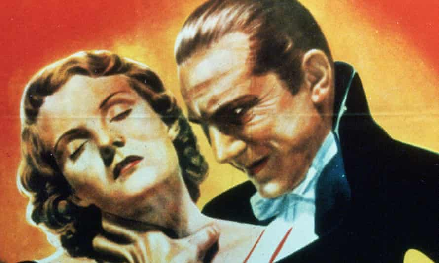 A poster for the 1931 film of Dracula starring Bela Lugosi