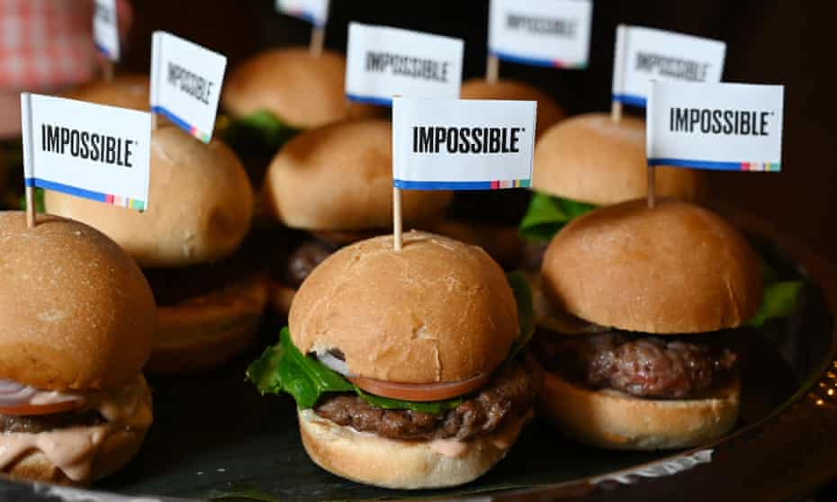 Similar to beef, down to the 'blood': the Impossible Burger