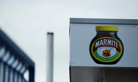 Unilever's Burton upon Trent factory where Marmite is produced.