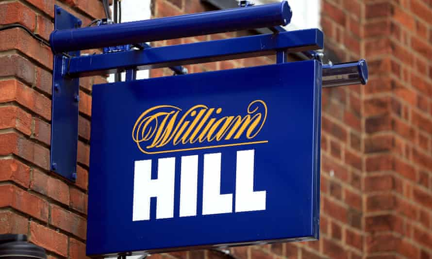 A William Hill sign