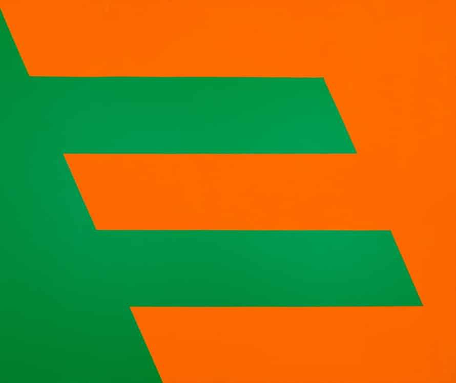 Green and Orange, 1958.