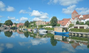 Plau am See, Mecklenburg.