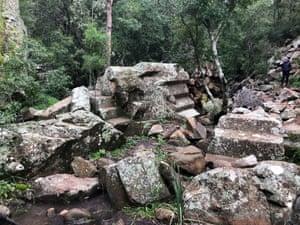 Sawn Rocks in Mt Kaputar National Park
