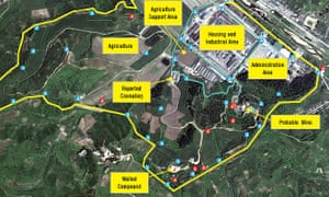 New satellite imagery of North Korea's network of political prison camps show the government is continuing to maintain and invest in the repressive facilities Overview of Camp 25 Satellite imagery from August shows the addition of six new guard posts, maintenance work on 41 existing posts, and indications of a roof upgrade to a reported crematorium in the camp, all strongly suggesting that Camp 25 remains an active detention facility