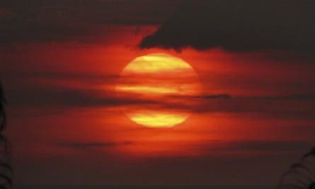 Hawaii's Kilauea volcano has been sending volcanic smog or 'vog' into the atmosphere