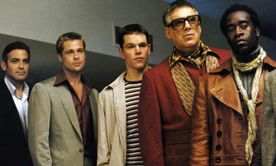 Part of the stellar gang in Ocean's Eleven. Photograph: Allstar/Warner Bros