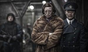 Tilda Swinton in Snowpiercer (2013).