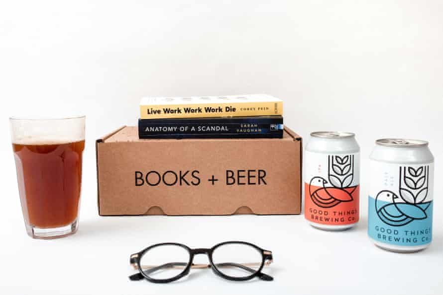Books Plus Beer offers readymade relaxation by post.