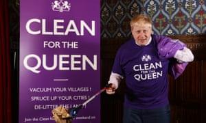 The mayor of London, Boris Johnson. 'He looks a frightful twerp.'