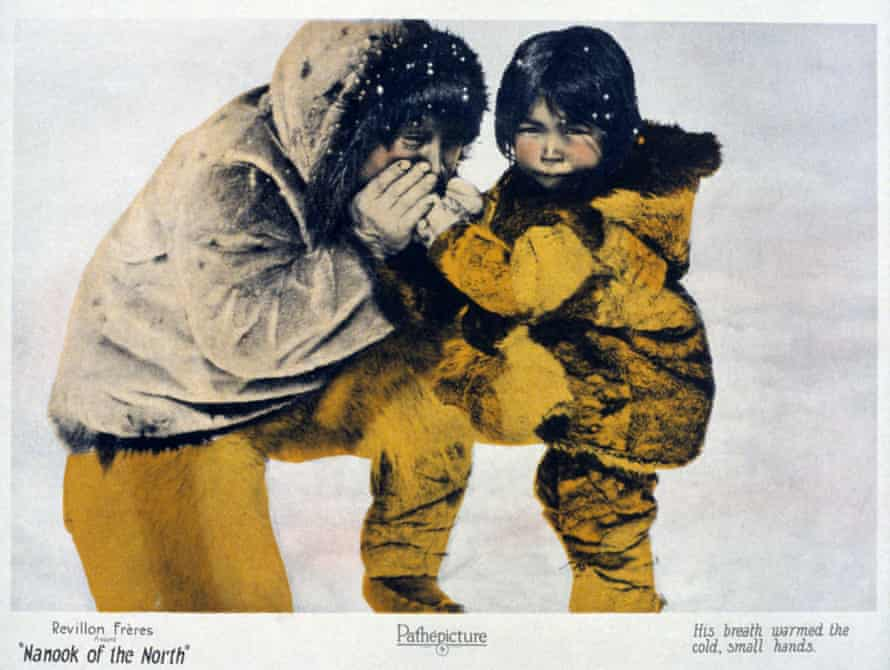 Still from the 1922 film Nanook of the North.
