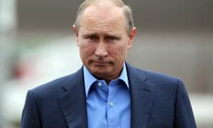 Vladimir Putin in Belfast in 2013.