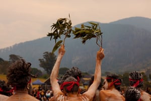 'When I first heard about the Bunaan. my first thoughts were I was going home, I knew it was something I had to do,' says Wodi Wodi songman Goombine Richard Scott Moore