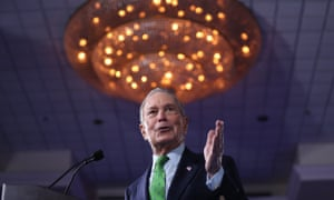 """Mayor Mike Bloomberg speaks during a """"United for Mike,"""" event held in Aventura, Florida."""