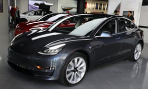 Struggling Tesla speeds up production of Model 3 vehicles