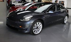 Tesla Finally Hits Weekly Production Target For Model Cars - Fruit yard car show