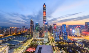 Shenzhen has transformed from a fishing village to high-rise megapolis.