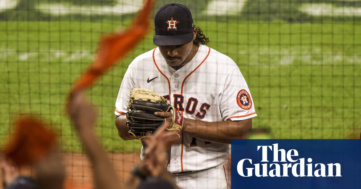 ALCS: Luis García hurls Houston Astros past Boston Red Sox into World Series