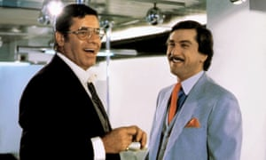 Jerry Lewis and Robert De Niro in The King of Comedy.