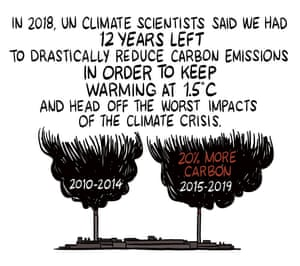 In 2018, UN climate scientists said we had 12 years left to drastically reduce carbon emissions in order to keep planetary warming at 1.5 degrees Celsius and head off the worst impacts of the climate crisis.