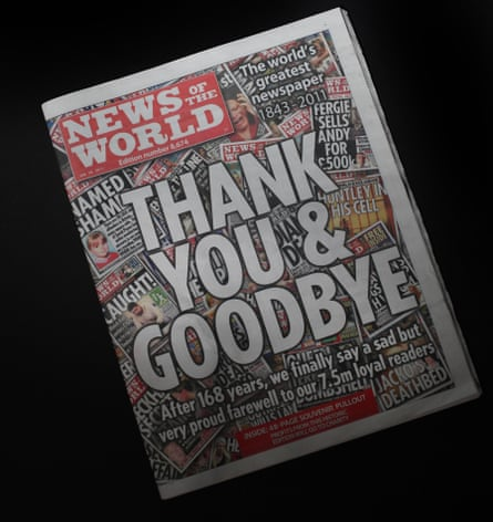 The closure of the News of the World amid the Milly Dowler phone-tapping scandal marked a new era of distrust in the media.