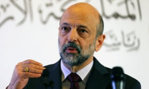 Jordan's prime minister, Omar Razzaz, said it will not absorb parts of the West Bank and its population.