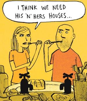 Berger & Wyse on cohabiting – cartoon