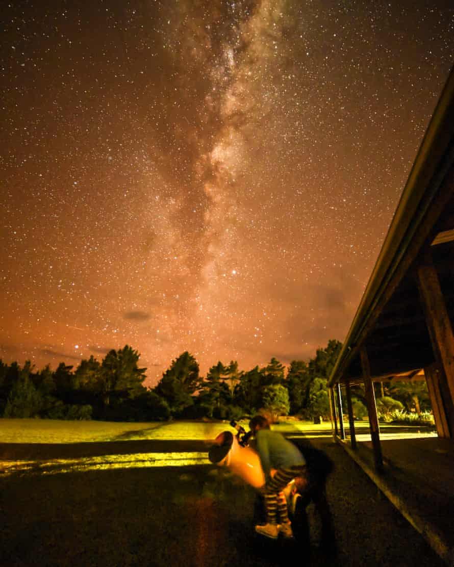 The Milky Way at Great Barrier Island.