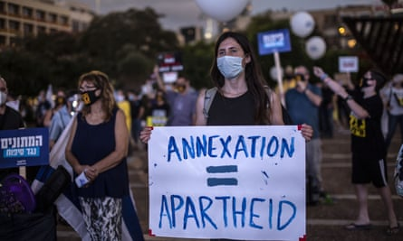 Protest against the economy and annexation, Tel Aviv, Israel - 23 Jun 2020