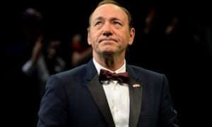 Kevin Spacey, who receives an honorary knighthood for services to international culture, said he felt like 'an adopted son'.