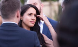 The Duchess of Sussex in South Africa last month