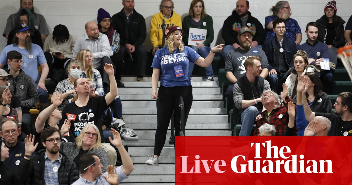 5374 - Iowa caucuses: results in chaos as Democratic party blames 'inconsistencies' on delays – live | US news