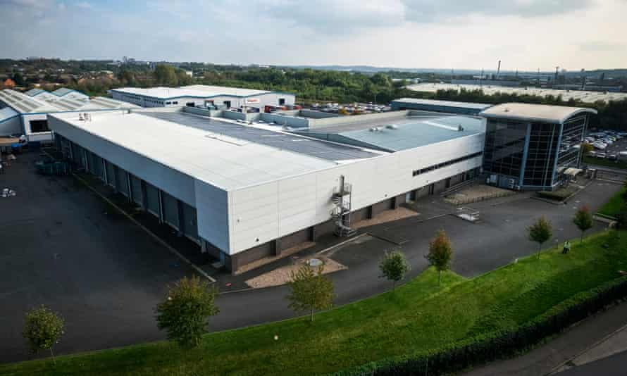 2 Sisters Food Group plant in West Bromwich