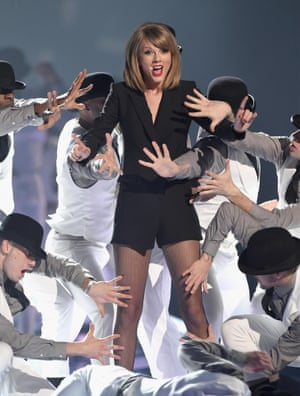 Taylor Swift opened the ceremony