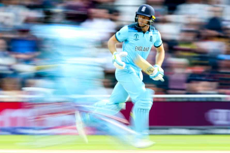 Jos Buttler struck a century but his dismissal marked the beginning of the end for England.