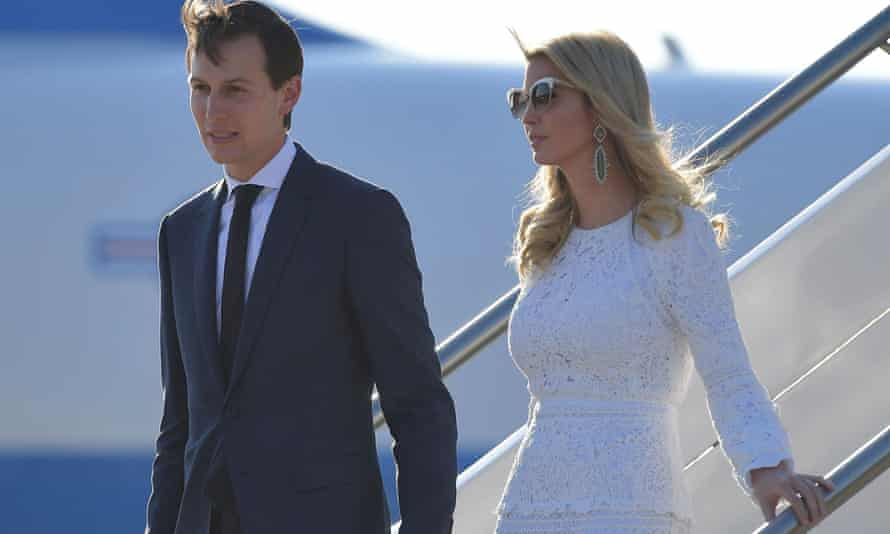 Ivanka Trump and Jared Kushner have been invited to China.