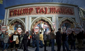 The strike by union workers at the Trump Taj Mahal was the longest in Atlantic City casino history.