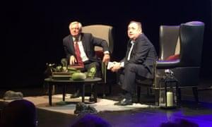 David Davis and Alex Salmond