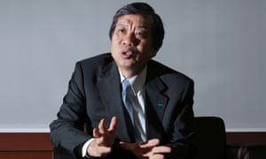 Mitsui chairman Yasuyoshi Karasawa.