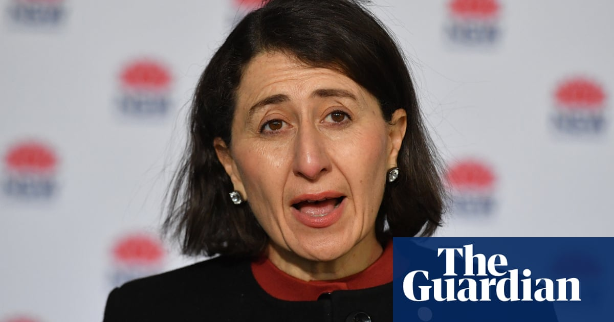 NSW premier asked why so many people still infectious in community after 110 new Covid cases – video