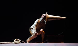 Akram Khan as a first world war Indian soldier in his new work, Xenos.