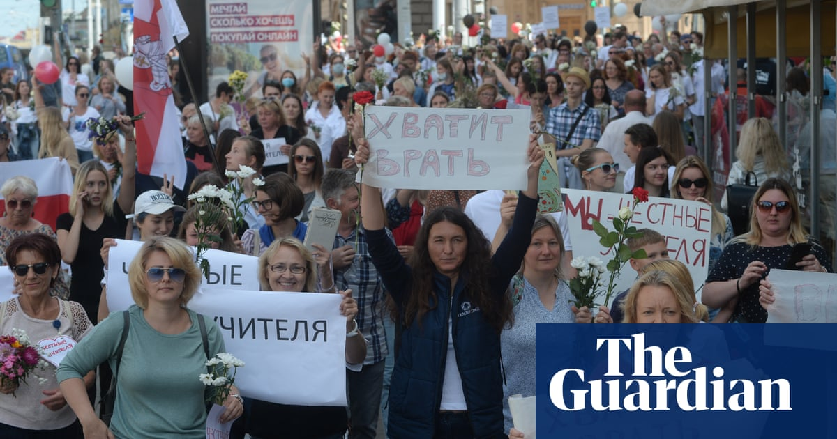 Belarus protests resume after opposition candidate's video from exile