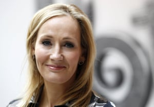 JK Rowling: gender-neutral in order not to put off young male readers.