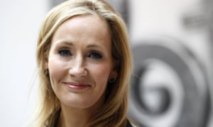 JK Rowling, author of the Harry Potter series of books, at the launch of Pottermore website in 2011
