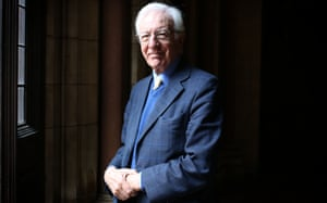 'On the whole, I've been lucky': Richard Layard photographed in London